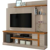Home Theater Alan Cinza/Naturale Madetec - Tricae