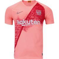 Camisa Barcelona Iii 18/19 Nike - Masculina - Salmao