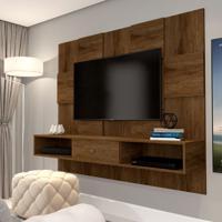 Painel Para Tv Até 50 Polegadas Luxo Canela