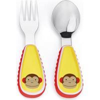 Talher Infantil Skip Hop Zoo Macaco Masculino - Masculino