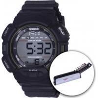 Relógio Digital Speedo 81079G0 Com Kit De Ferramentas - Masculino - Preto