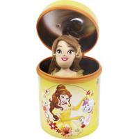 Boneca Chaveiro Minas De Presentes Bela 23Cm Na Lata Princesas Disney Amarelo