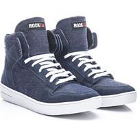 Tênis Rock Fit Milão Em Jeans