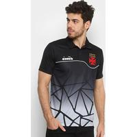Camisa Polo Vasco Viagem 2018 Atleta Diadora Masculina - Masculino