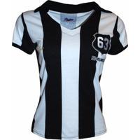 Camisa Liga Retrô Pepe 1963 Listrado - Feminino