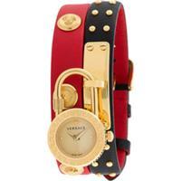 Versace Relógio Medusa Lock Icon - Preto