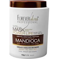 Máscara Hidratante De Mandioca Power Life Forever Liss 950G