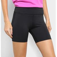 Short Nike Fast Short Tight Feminino - Feminino-Preto+Prata
