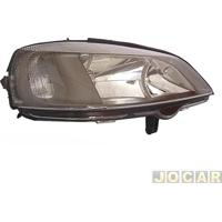 Farol - Importado - Astra 1999 Até 2002 - Máscara Preta - Lado Do Passageiro - Cada (Unidade) - 30696