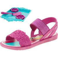 Sandália Infantil Feminina Frozen Cookies Grendene Kids - 21681 Pink