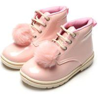 Bota Tricae Infantil Pompom Rosa