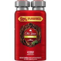 Desodorante Aerosol Old Spice Lenha Com 2 Unidades 150Ml Cada