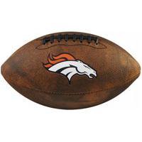Bola De Futebol Americano Wilson Denver Broncos