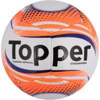99f1387076 Bola De Futebol De Campo Topper Champion Ii - Branco Coral