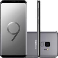 Smartphone Samsung Galaxy S9 G9600 128Gb Desbloqueado Cinza Titanio