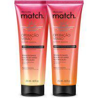 Combo Match Operação Verão: Shampoo 250Ml + Condicionador 250Ml