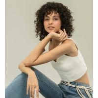 Calça Malibu Flare Cintura Baixa Jeans - Lez A Lez