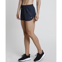 Short Feminino Esportivo Ace Running Azul Escuro