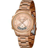 Relógio Lince Anadigi Lar4640Lr1Rx Feminino - Feminino-Dourado