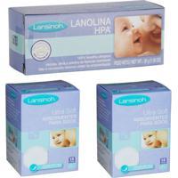 Kit Pomada De Lanolina Momma Hpa 30G Absorvente De Seios 24 Und