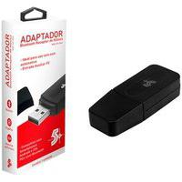 Adaptador Bluetooth 5+ Receptor De Musica Com Cabo Auxiliar P2, Preto - 015-0064