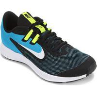 Tênis Infantil Nike Downshifter 9 Gs - Unissex-Preto
