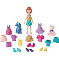 Boneca Polly Pocket Ruiva - Polly Pronta Para A Festa - Mattel