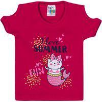 Blusa Sempe Kids Infantil Fem. Rosa Pink