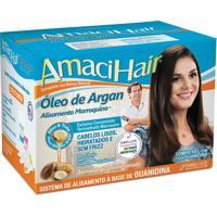 Kit Alisante Amacihair Óleo De Argan 220G