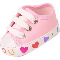 Tênis Romântica Calçados Bebê Rosa