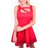 Vestido Driss Balada Vermelho
