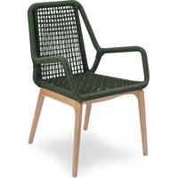 Cadeira Stendel Trama Corda Náutica Pés Jequitibá Eco Friendly Design Scaburi