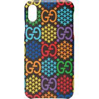 Gucci Capa Gg Psychedelic Para Iphone Xs Max - Preto