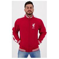 Jaqueta Liverpool Trilobal Vermelha E Branca