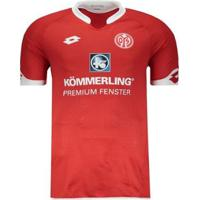 Camisa Lotto Fsv Mainz Home 2016 - Masculino