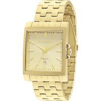 Relógio Analógico Technos Masculino - 2115Koz4X Dourado
