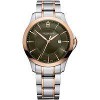 Relógio Victorinox Swiss Army Unissex Aço Prateado E Rosé -241913