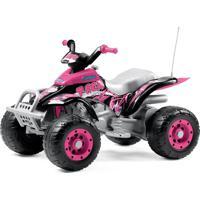 Quadriciclo Corral T-Rex New Pink 12V Peg Pérego