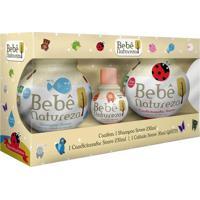 Kit Bebê Natureza Biotropic Shampoo + Condicionador + Colônia Grátis