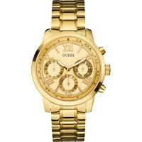 Relógio Guess Feminino Aço Dourado - W0330L1