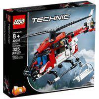 Lego Technic 42092 Helicóptero De Salvamento - Lego