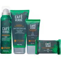 L'Occitane Rotina Cuidado Masculino Café Verde