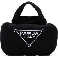 Haute Diggity Dog Brinquedo Para Cachorro Large Pawda Handbag Preto
