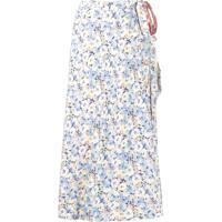 Polo Ralph Lauren Floral Print Skirt - Rosa
