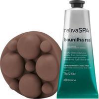 Combo Nativa Spa Baunilha Real: Creme Hidratante Mãos + Sabonete Em Barra