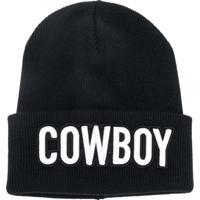 b60dd5f08d3a1 Farfetch  Dsquared2 Gorro  Cowboy  De Lã - Preto