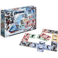 Jogo Domino Avengers Assemble Xalingo - Azul - Dafiti