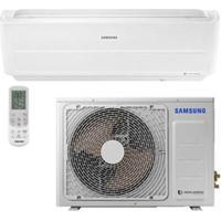 Ar Condicionado Digital Inverter Wind Free Samsung Com 9.000 Btus, Quente E Frio Branco - Ar09Nspxbwkxaz