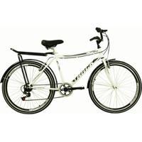 a25b0c825b896 Netshoes; Bicicleta Track & Bikes Aro 26 City Urb Branca - Unissex