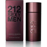 Perfume 212 Sexy Masculino Carolina Herrera Eau De Toilette 30Ml